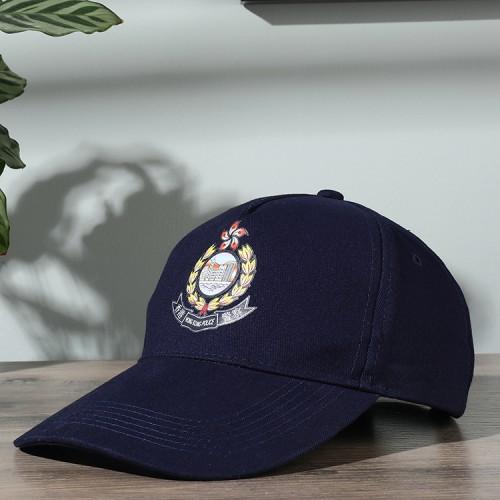 徽章防曬鴨舌帽