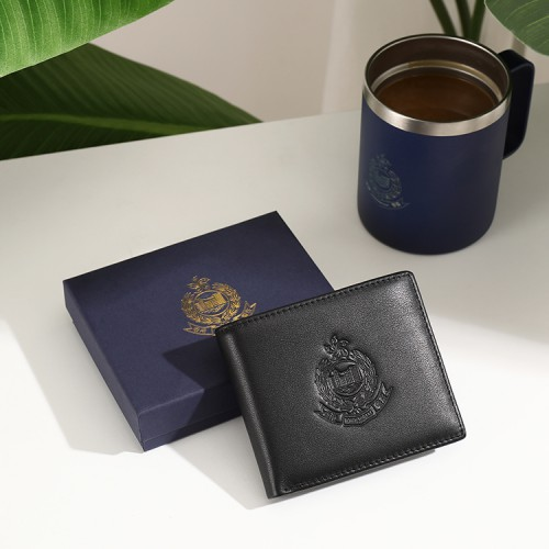防磁RFID真皮錢包