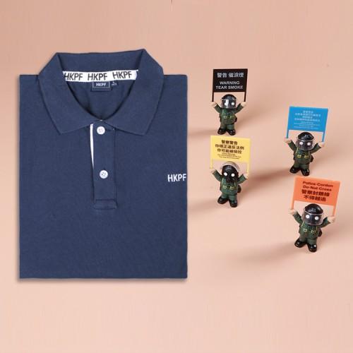 節日特別優惠1:任選POLO衫1件加4個從未單賣PTU舉旗公仔