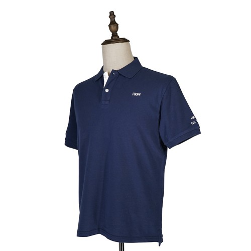 HKPF藍色POLO衫