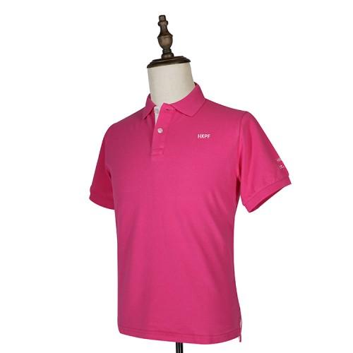 HKPF粉色POLO衫