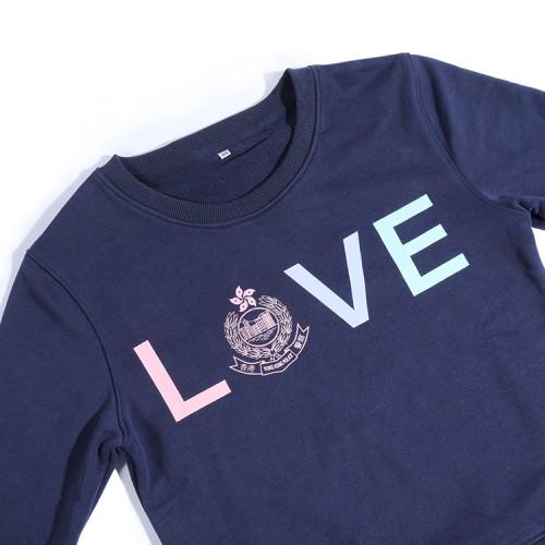 LOVE HKP警徽款衛衣